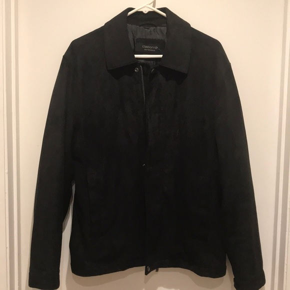 Claiborne Other - Black Collared Bomber Jacket d97bf285841d